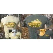 T-Shirt Woody's Fly Shop